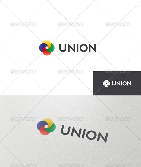 Abstract Union Logo - Abstract Logo Templates