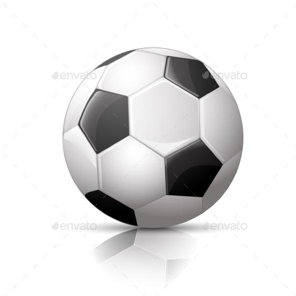 Soccer Ball, Football Icon - Sports/Activity Conceptual