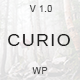 Curio - Responsive Minimal Blog Theme Nulled