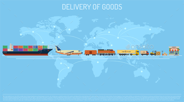 Delivery of Goods Concept - Industries Business