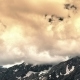 Most Clouded Sky High Above The Mountains In Sairamsu, Kazakhstan - VideoHive Item for Sale