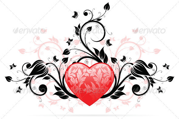 Valentines Day Heart - Valentines Seasons/Holidays