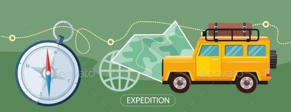 Expedition Concept - Travel Conceptual