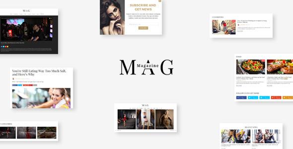 Mag | WordPress Online Magazine