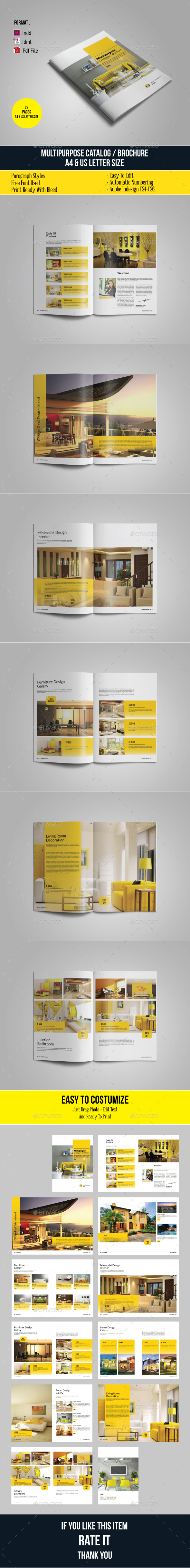 Multipurpose Catalogs / Brochure / Portfolio - Catalogs Brochures