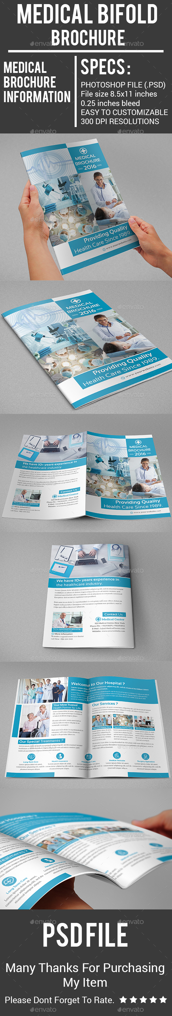 Medical Bifold Brochure - Corporate Brochures