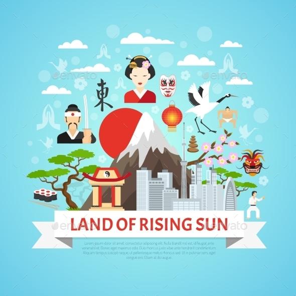 Japan Concept Background  - Travel Conceptual