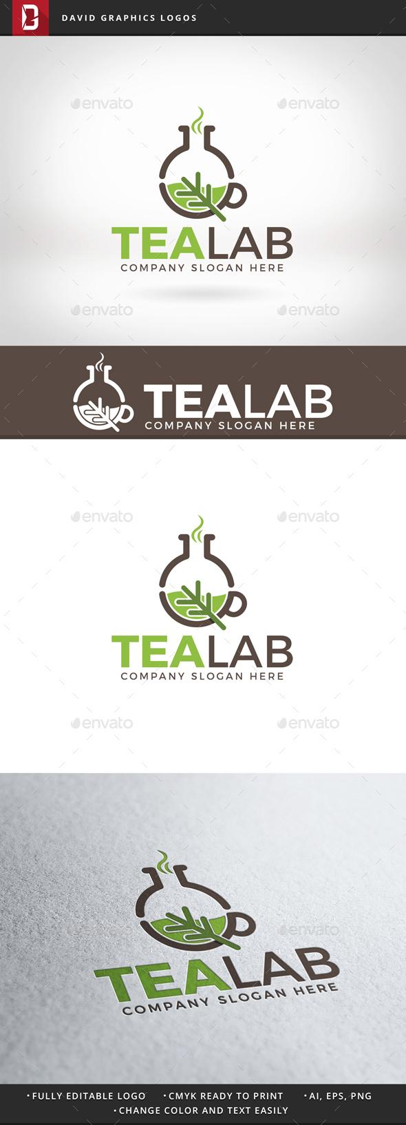 Tea Lab Logo - Objects Logo Templates