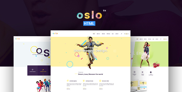 Oslo – Creative Agency Portfolio HTML5 Template