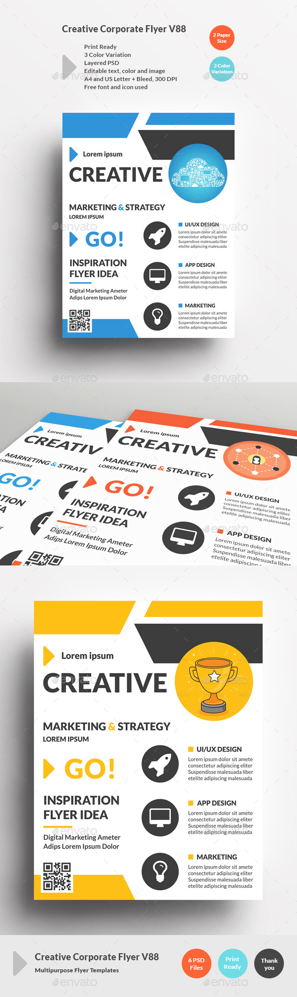 Creative Corporate Flyer V88 - Corporate Flyers