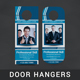 Corporate Door Hanger - V3 - GraphicRiver Item for Sale