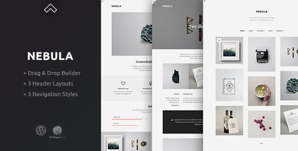Nebula - A Clean & Minimal Portfolio Theme - Creative WordPress