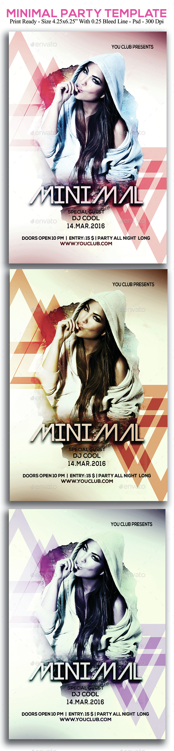 Minimal Party - Clubs & Parties Events
