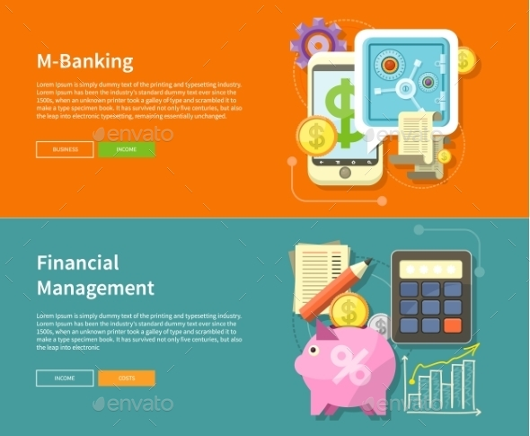 Internet Online Banking and Financial Management - Computers Technology