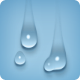 Sliding Merging Water Drop Movement - VideoHive Item for Sale
