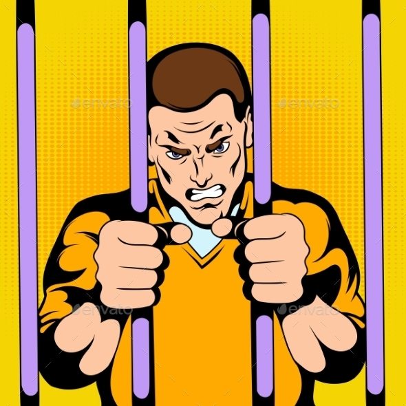 Prisoner in Jail - Miscellaneous Vectors