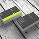 Minimal Business Card InDesign 0016 - GraphicRiver Item for Sale