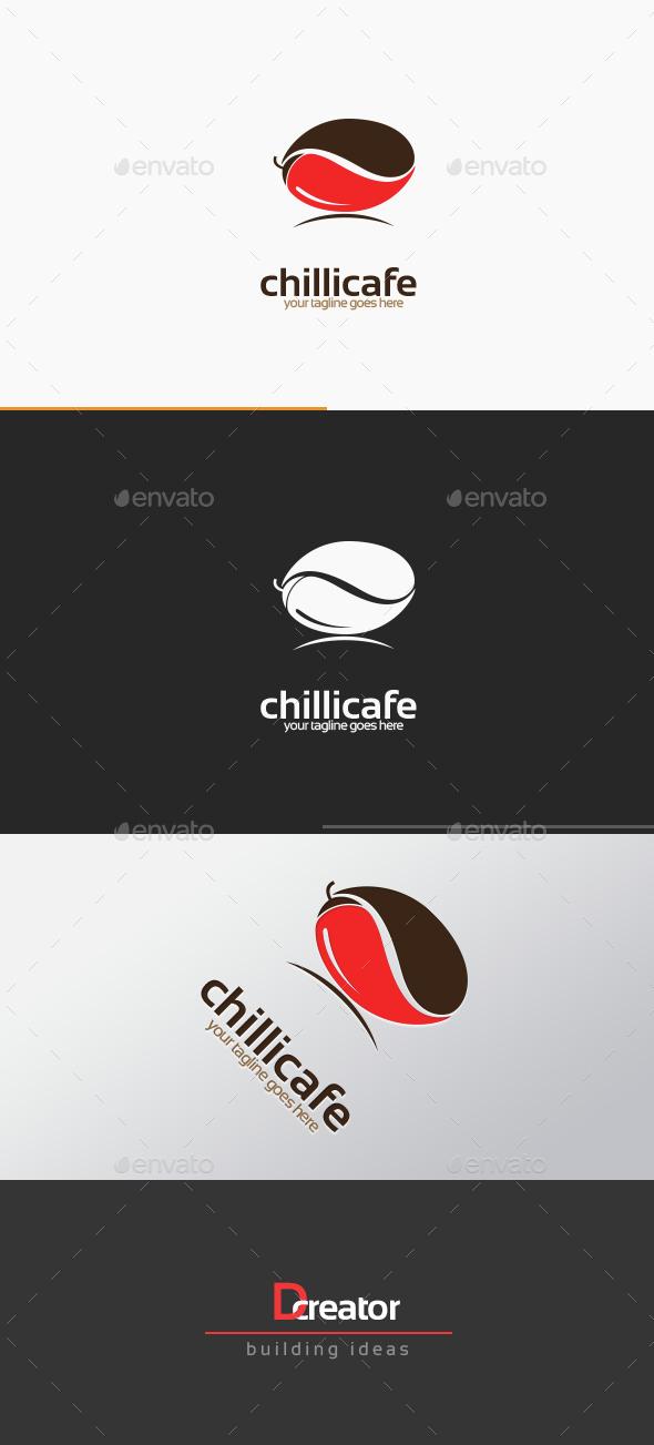 Spicy Coffee Shop Logo - Food Logo Templates