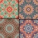 Ethnic Floral Seamless Pattern - GraphicRiver Item for Sale