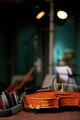 Violin in Music Studio - PhotoDune Item for Sale