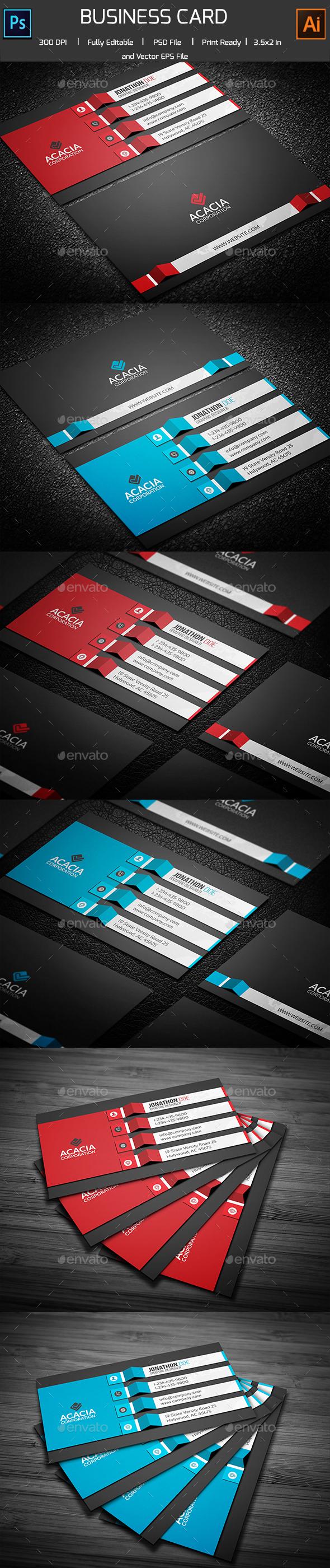 Batchbandole Business Card - Corporate Business Cards