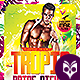 Tropical Pride Nights Flyer - GraphicRiver Item for Sale