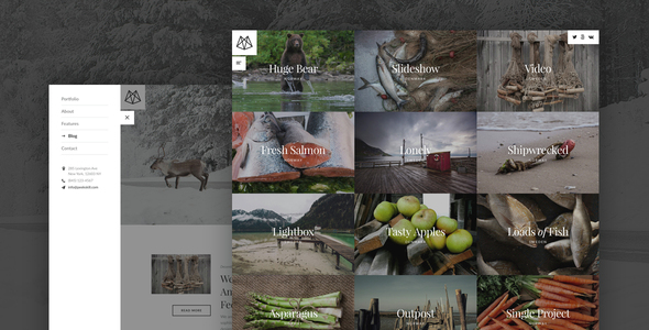 Peekskill – Mobile-First Portfolio for Creatives