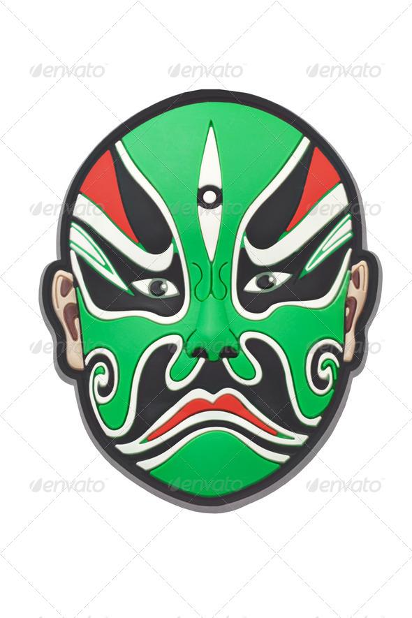 Chinese Beijing opera mask - Stock Photo - Images