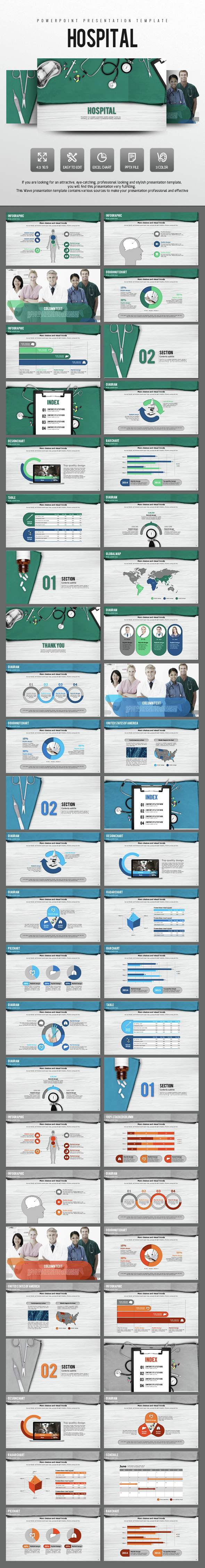 Hospital Presentation Template - PowerPoint Templates Presentation Templates