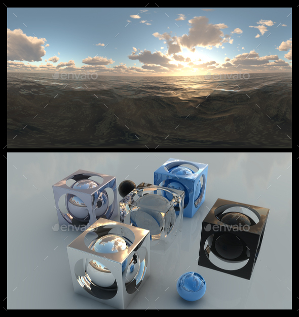 Ocean Dawn 10 - HDRI - 3DOcean Item for Sale