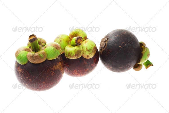 Mangosteens - Stock Photo - Images