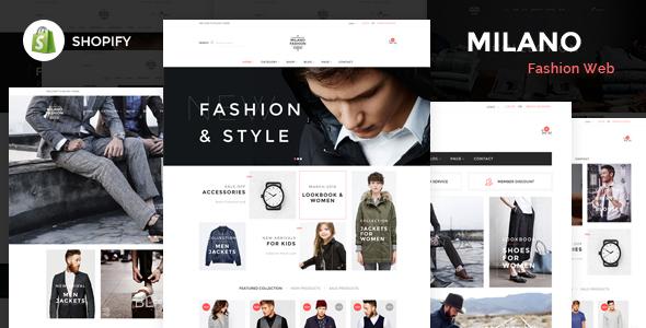 Milano – Responsive Shopify Theme - Fashion Shopify