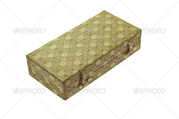 Oriental design gift box - Stock Photo - Images
