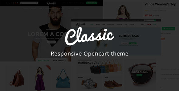 Classic - Kids Store Responsive OpenCart Theme - Shopping OpenCart