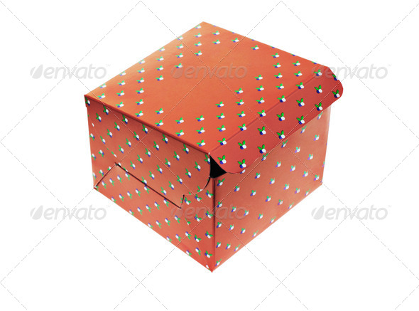 Takeaway paper box - Stock Photo - Images
