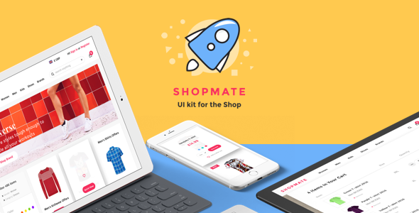 Shopmate - UI Kit for the Shop - Sketch Templates