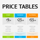 Price Table - GraphicRiver Item for Sale