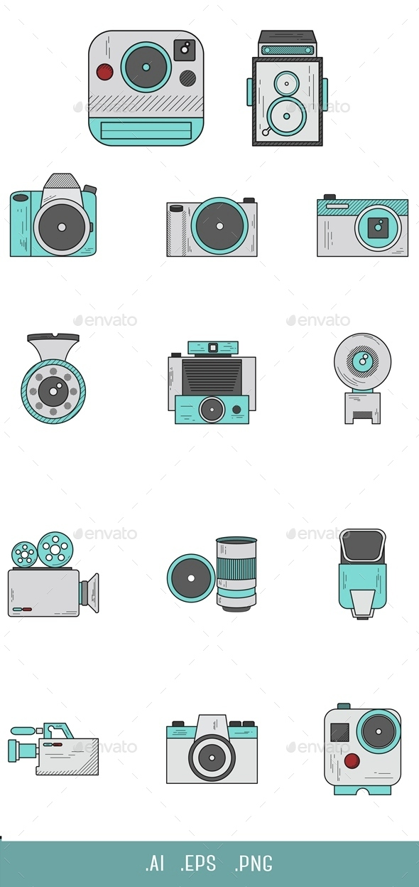 Camera Icon - Objects Icons