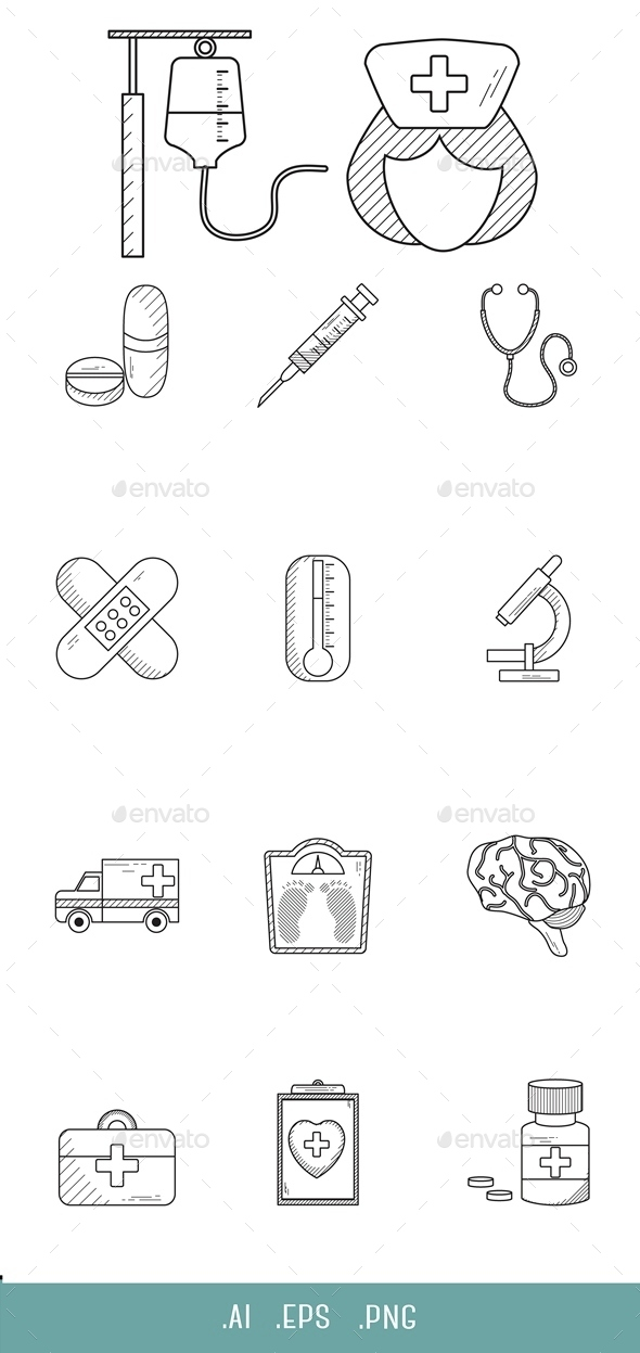 Medical Line Icon - Miscellaneous Icons