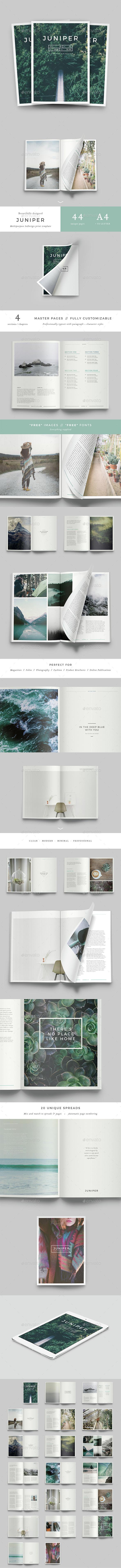 Juniper Magazine / Portfolio - Magazines Print Templates