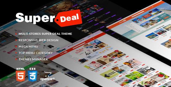 Super Deal – Premium Responsive Opencart Theme