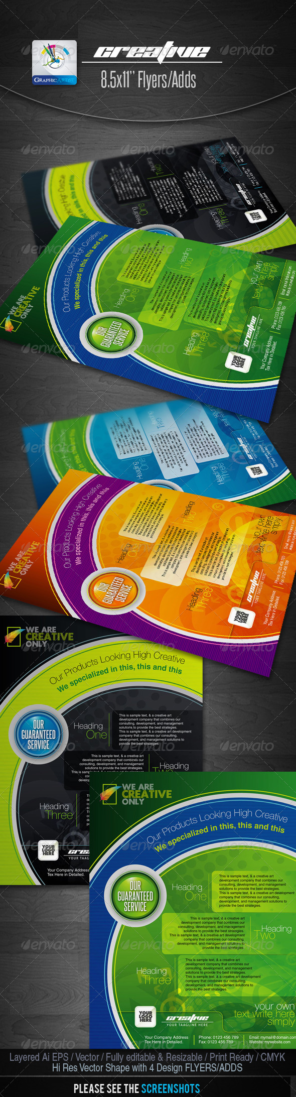 Creative Flyers/Adds - Corporate Flyers