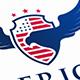 American Eagle Crest Logo - GraphicRiver Item for Sale