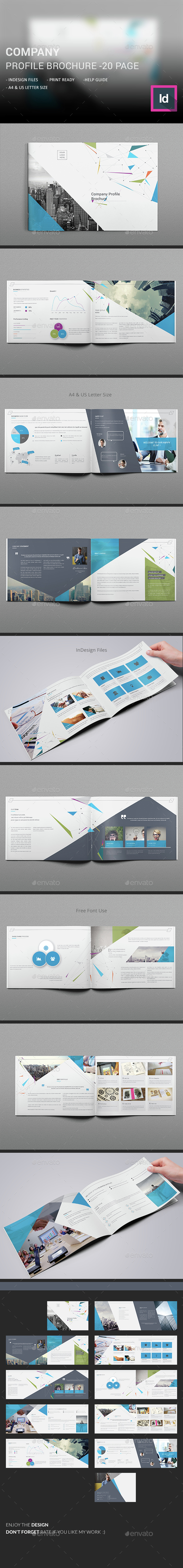 Company Profile Brochure - Corporate Brochures