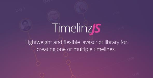 TimelinzJS - lightweight timeline maker