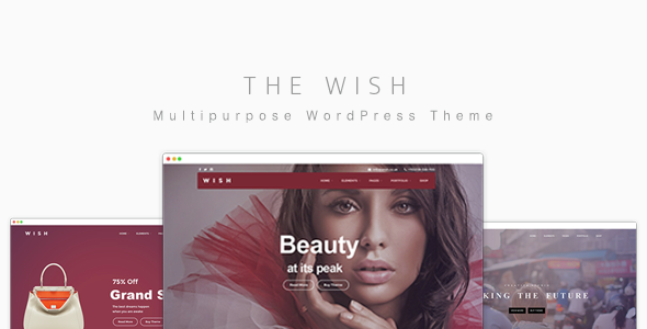Wish – Responsive Multi-Purpose WordPress Theme