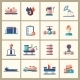 Oil and Gas Industry Modern Flat Design Icons - GraphicRiver Item for Sale