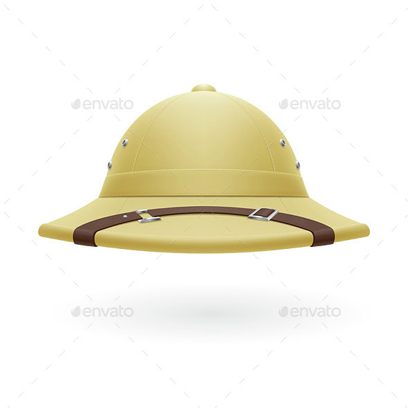 Pith Helmet - Man-made Objects Objects