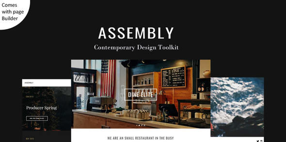 Assembly – Multipurpose Theme with Page Builder