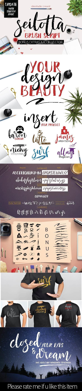 SEILOTTA Brush Script - Script Fonts